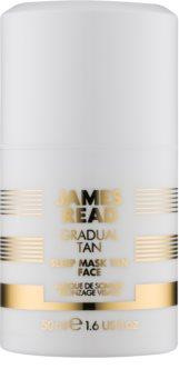 James Read Gradual Tan hidratantna noćna maska za samotamnjenje za lice