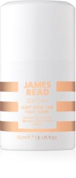 James Read Self Tan máscara de noite com efeito autobronzeador para rosto