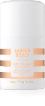 James Read Self Tan samoolaľovacia nočná maska na tvár