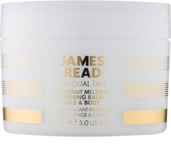 James Read Gradual Tan Coconut Melting crema autoabbronzante corpo e viso con olio di cocco