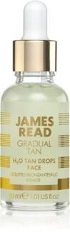 James Read Gradual Tan H2O Tan Drops gocce autoabbronzanti per il viso