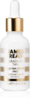 James Read Gradual Tan H2O Tan Drops gouttes auto-bronzantes visage
