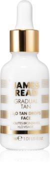James Read Gradual Tan H2O Tan Drops kapi za samotamnjenje za lice