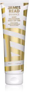 James Read Enhance lait auto-bronzant lavable visage et corps