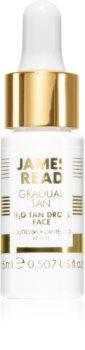 James Read Gradual Tan H2O Tan Drops samoopalovací kapky na obličej