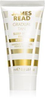 James Read Gradual Tan Sleep Mask Self-Tanning Overnight Face Mask with Retinol