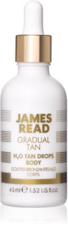 James Read Gradual Tan H2O Tan Drops Self-Tanning Drops for Body