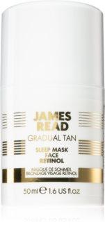 James Read Gradual Tan Sleep Mask maska za lice za samotamnjenje s retinolom