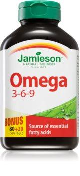 Jamieson Omega 3-6-9 1200mg podpora normálního stavu zraku a činnosti mozku