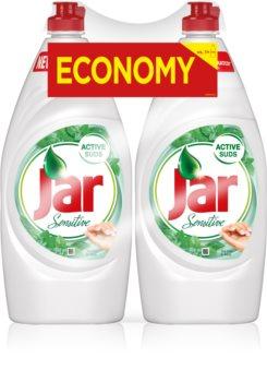 Jar Sensitive Tea Tree & Mint препарат за миене на съдове ДУО ОПАКОВКА
