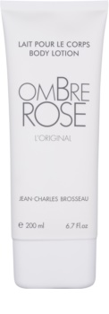 Jean Charles Brosseau Ombre Rose leite corporal para mulheres 200 ml
