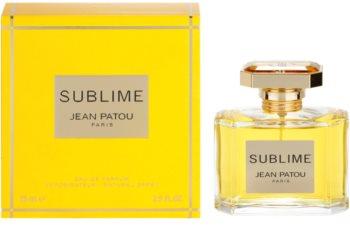 Jean Patou Sublime eau de parfum para mujer