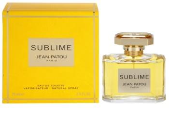 Jean Patou Sublime Eau de Toilette für Damen