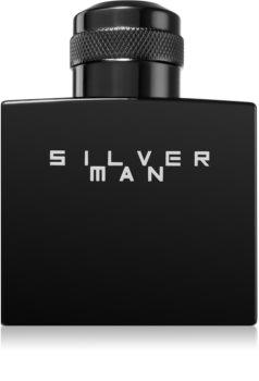 Jeanne Arthes Silver Man Eau de Toilette pentru bărbați