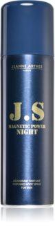 Jeanne Arthes J.S. Magnetic Power Night dezodorant w sprayu dla mężczyzn