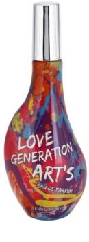 Jeanne Arthes Love Generation Art's Eau de Parfum til kvinder