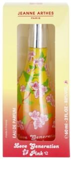Jeanne Arthes Love Generation Pink parfumovaná voda pre ženy