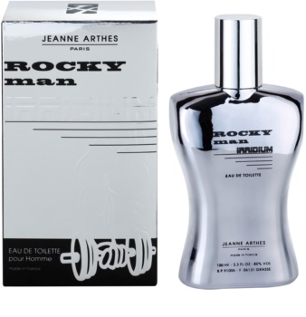 Jeanne Arthes Rocky Man Irridium Eau de Toilette for Men
