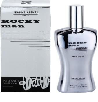 Jeanne Arthes Rocky Man Irridium Eau de Toilette für Herren