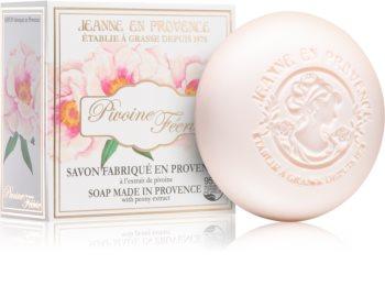 Jeanne en Provence Pivoine Féerie parfümös szappan hölgyeknek