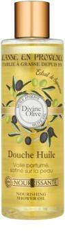 Jeanne en Provence Divine Olive sprchový olej s vyživujícím účinkem