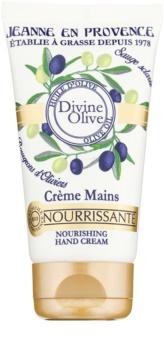 Jeanne en Provence Divine Olive creme de mãos com efeito nutritivo