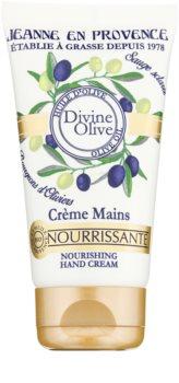 Jeanne en Provence Divine Olive krema za ruke s hranjivim učinkom