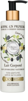 Jeanne en Provence Olive leite corporal nutritivo  com azeite