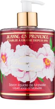 Jeanne en Provence Pivoine Féerie sapone liquido per le mani peonia