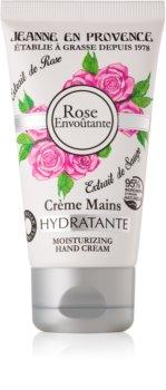 Jeanne en Provence Rose crema idratante mani