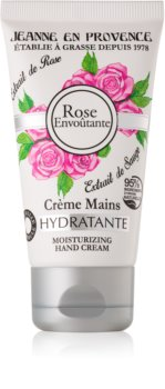 Jeanne en Provence Rose Envoûtante feuchtigkeitsspendende Creme für die Hände