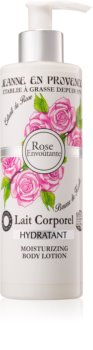 Jeanne en Provence Rose lait corporel hydratant