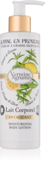 Jeanne en Provence Verveine Agrumes lait corporel hydratant