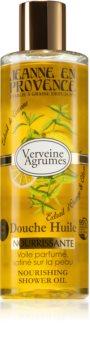 Jeanne en Provence Verveine Agrumes huile douche traitante
