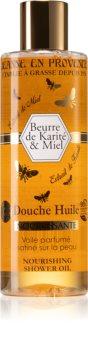 Jeanne en Provence Karité Miel Nourishing Shower Oil