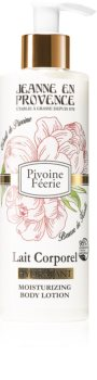 Jeanne en Provence Pivoine Féerie тоалетно мляко за тяло