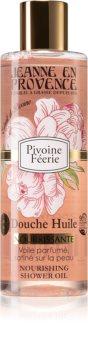 Jeanne en Provence Pivoine Féerie ápoló tusoló olaj
