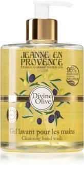 Jeanne en Provence Divine Olive flüssige Seife für die Hände