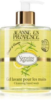 Jeanne en Provence Verveine Agrumes flüssige Seife für die Hände