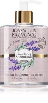 Jeanne en Provence Lavande Gourmande flüssige Seife für die Hände