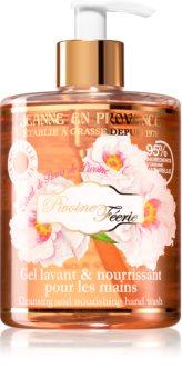 Jeanne en Provence Pivoine Féerie почистващ гел божур