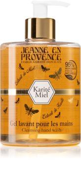 Jeanne en Provence Karité Miel tekuté mýdlo na ruce