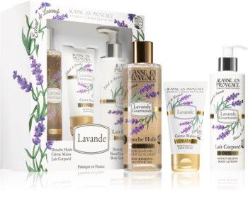 Jeanne en Provence Lavender zestaw upominkowy dla kobiet