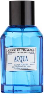 Jeanne en Provence Acqua Eau de Toilette voor Mannen