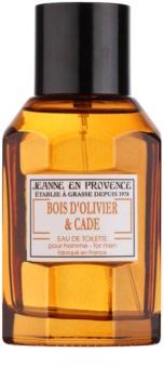 Jeanne en Provence Olive Wood & Juniper Eau de Toilette til mænd