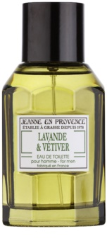 Jeanne en Provence Lavande & Vétiver Eau de Toilette pour homme