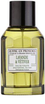 Jeanne en Provence Lavande & Vétiver Eau de Toilette για άντρες