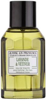 Jeanne en Provence Lavander & Vétiver Eau de Toilette für Herren