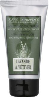 Jeanne en Provence Lavander & Vétiver bálsamo after shave para hombre 75 ml
