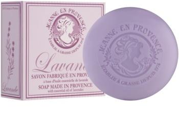 Jeanne en Provence Lavande Gourmande luxus francia szappan